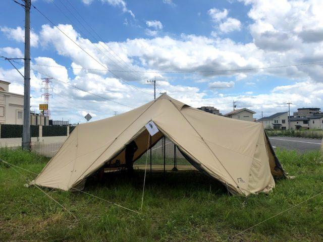 パイロット スカイ 【スカイパイロットTC】サバティカルより美しいフォルムのテント(シェルター)が登場!